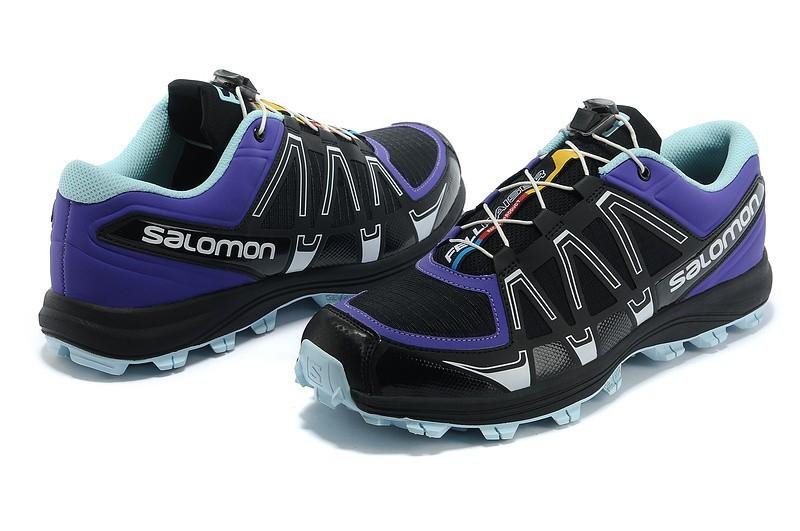 Zapatillas Salomon Fellraiser Azul y Negro