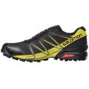 Hombre Zapatillas Salomon Speedcross Pro Negro/Negro/Corona Amarillo