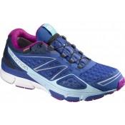 Salomon X-SCrema 3d Gtx Azul/Blanco Mujer Zapatillas Running
