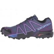 Zapatillas Deportivas Mujer Salomon Speedcross 4 Cs SlateAzul/Cosmic Púrpura/Negro