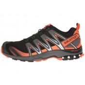 Zapatillas De Montaña Salomon Xa Pro 3d Hombre Negro/Oscuro Gris/Tomato Rojo