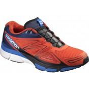 Zapatillas Running Naranja/Azul/Negro Salomon X-SCrema 3d Hombre