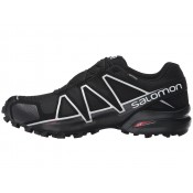 Zapatillas Running Hombre Salomon Speedcross 4 Gtx Negro/Negro/Plata Metallic