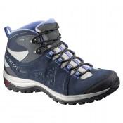 Zapatillas Salomon Ellipse 2 Mid Ltr Gtx W Mujer New Titanium/Profundo Azul/Petunia Azul