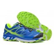 Azul Verde Hombre Salomon Xt 3d Wings Ultra Mountain Trail Zapatillas