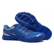 Zapatillas Running Hombre Salomon S-Lab Sense 2 Trail Ultra Ligeroweight Royal Azul Plata