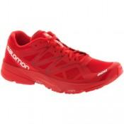 Zapatillas Deportivas Salomon S-Lab Sonic Mujer/Hombre Racing Rojo/Blanco