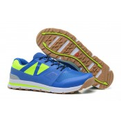 Salomon Outban Low Azul/Fluorescent Verde Zapatillas Deportivas