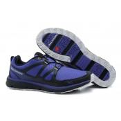 Azul Violet Negro Hombre Salomon S-Wind Zapatillas Deportivas