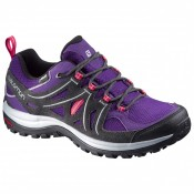 Mujer Salomon Ellipse 2 Gtx - Multisport Zapatillas En Cosmic Púrpura/Asphalt/Lotus Rosa