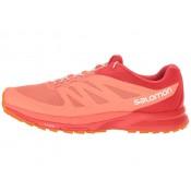 Zapatillas Running Living Coral/Poppy Rojo/Brillante Marigold Salomon Sense Pro 2 Mujer
