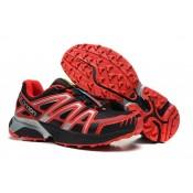 Hombre Salomon Xt Hornet Trail Negro Rojo Zapatillas De Montaña