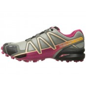 Mujer Salomon Speedcross 4 Cs Shadow/Sangria/Peach Nectar Zapatillas