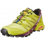 Zapatillas Running De Mujer Salomon Speedcross Pro Gecko Verde/Mystic Púrpura/Blanco Trail