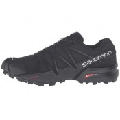 Salomon Speedcross 4 Mujer Negro/Negro/Negro Metallic Zapatillas Running