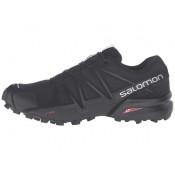 Salomon Speedcross 4 Mujer Negro/Negro/Negro Metallic Zapatillas Running