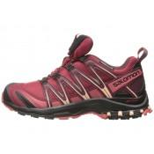 Mujer Zapatillas Deportivas De Salomon Xa Pro 3d Cs Wp Tibetan Rojo/Negro/Mineral Rojo