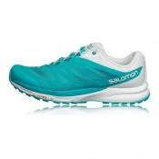 Mujer Blanco/Verde/Azul Salomon Sense Pro 2 Trail Zapatillas De Montaña