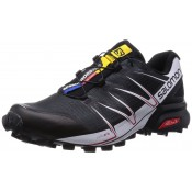 Hombre Zapatillas Running De Salomon Speedcross Pro Negro/Blanco/Brillante Rojo Trail