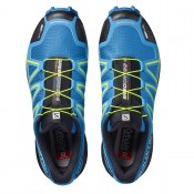 Salomon Speedcross 4 CS Trail Running 398425 Hombre Gandul Azul/Negro/Verde Amarillo Zapatillas Casual