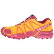 Mujer Salomon Speedcross 4 Brillante Marigold/Sangria/Rosa Violet Zapatillas Running