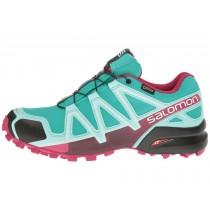 Mujer Zapatillas Deportivas De Azul/Aruba Azul/Sangria Salomon Speedcross 4 Gtx