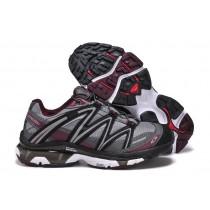 Salomon Sport Amphibian 2 Hombre Zapatillas De Montaña Lb Gris Negro Púrpura