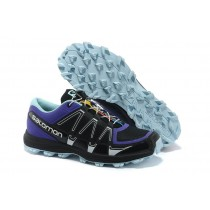 Zapatillas Salomon Fellraiser Negro Sapphire Hombre Mountain Trail Jnh