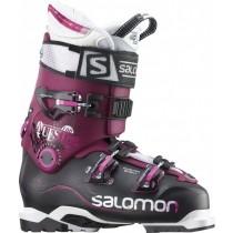 Salomon Quest Pro 100 - Mujer Ski Zapatillas Running (Negro/Burgandy)
