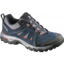 Zapatillas Oscuro Azul/Negro/Naranja Hombre Salomon Evasion Gtx