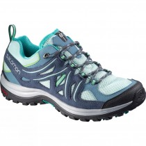 Salomon Ellipse 2 Aero Igloo Azul/Slate Azul/Teal Azul Mujer Excursionismo Zapatillas