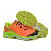 Hombre Zapatillas De Naranja Amarillo Salomon Xt 3d Wings Ultra Mountain Trail