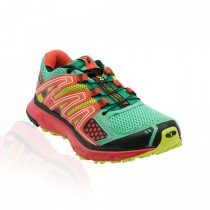Zapatillas Trail Running De Salomon Xr Mission Trail Mujer Negro/Rosa/Verde