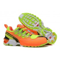 Hombre Zapatillas Running De Salomon Gcs Athletic Trail Naranja Amarillo