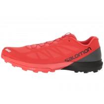 Racing Rojo/Negro/Blanco Salomon S-Lab Sense 6 Sg Mujer/Hombre Zapatillas