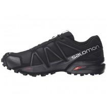 Zapatillas De Montaña Negro/Negro/Negro Metallic Salomon Speedcross 4 Hombre