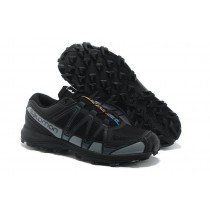 Negro Gris Salomon Fellraiser Hombre Mountain Trail Zapatillas Jnh