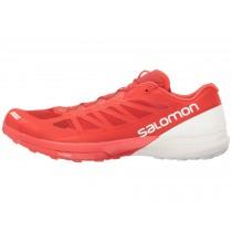 Mujer Hombre Racing Rojo/Blanco/Blanco Zapatillas De Salomon S-Lab Sense 6