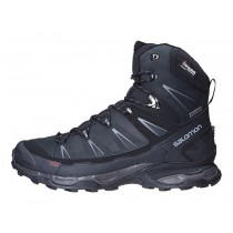 Negro/Azul Botas Salomon X Ultra Winter Cs Wp Hombre