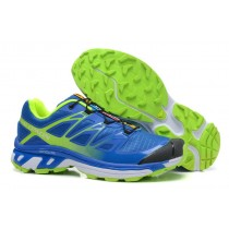 Azul Verde Hombre Salomon Xt 3d Wings Ultra Mountain Trail Zapatillas
