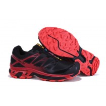 Hombre Negro Rojo Salomon Xt 3d Wings Ultra Mountain Trail Zapatillas