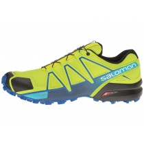 Zapatillas Salomon Speedcross 4 Hombre Lime Verde/Nautical Azul/Azul