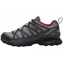 Zapatillas Running Pearl Gris/Oscuro Gris/Flea Salomon X Ultra Prime Cs Wp Hombre