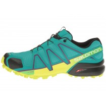 Profundo Peacock Azul/Lime Punch/Grape Juice Zapatillas Deportivas Salomon Speedcross 4 Mujer