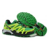 Salomon Xt Hornet Trail Verde Amarillo Negro Hombre Zapatillas Running