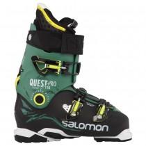 Zapatillas Deportivas Salomon 2015 Hombre Negro/Oscuro Verde Quest Pro 110