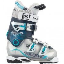 Salomon Quest Pro 80 W Mujer Blanco/Oscuro Azul Ski Zapatillas Deportivas