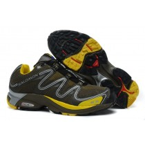 Marrón Amarillo Salomon Hombre Xt Hawk Zapatillas Trail Running