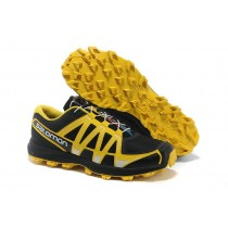 Salomon Fellraiser Hombre Mountain Trail Negro Gold Zapatillas Running Jnh
