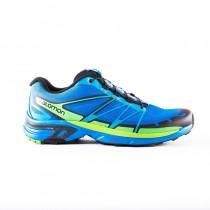 Salomon Wings Pro 2 Azul/Ligero Verde Zapatillas (Hombre)